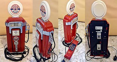Telefono GASOLINE HIGHWAY Pump TELEPHONE Vintage '97 FLAME 2000 Made in China