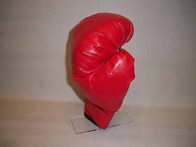 Pair Boxing Glove Display Stand Acrylic Glove Stand Signed Autographed Holder