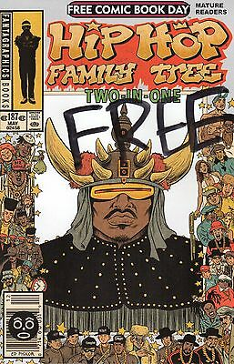 Fantagraphics Hip Hop Family Tree Two-in-One Free Comic Book Day - NM