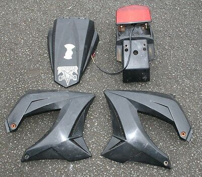 Gilera Sm50 Sm 50 2007 07 Rear Number Plate Panel Left Right Side Panels Fender