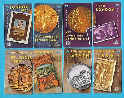 MERCURY OVERSEAS  - 12 PAIRS OF OLYMPIC YEARS - 24 cards