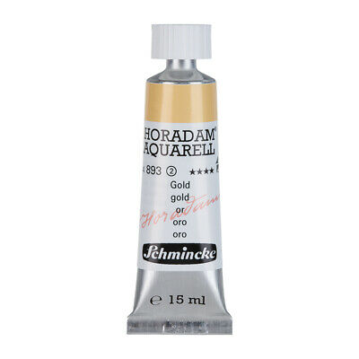 (61,87€/100ml) Schmincke 15ml HORADAM Aquarell Gold Aquarell  14 893 006
