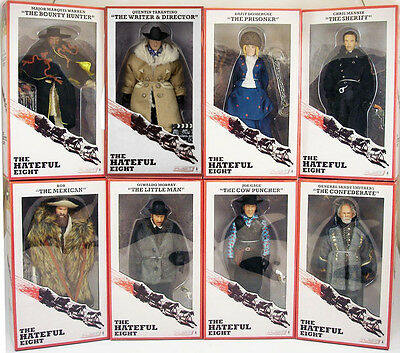 The Hateful Eight – 8″ Clothed Action Figure ! !! 8 FIGURES - NEW Neca TARANTINO