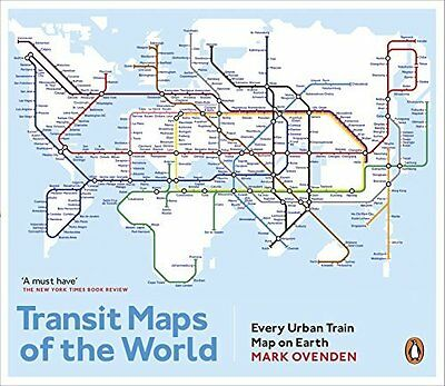 Transit Maps of the World by Mark Ovenden New Paperback Book