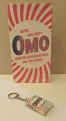 1950's OMO Washing Powder Packet in Dutch Authentic Vintage.Still Full!!