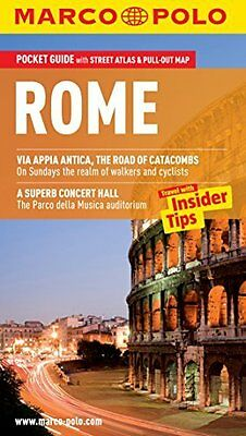 Rome Marco Polo Pocket Guide by Marco Polo New Paperback Book