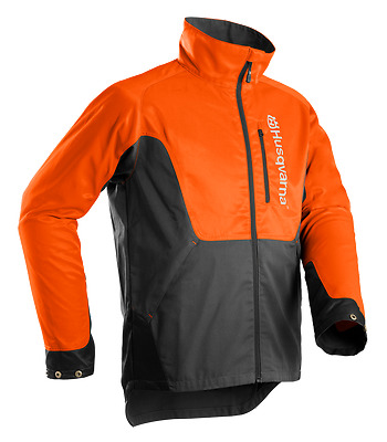 Husqvarna Classic Chainsaw Forest Orange High Vis Jacket - All Sizes