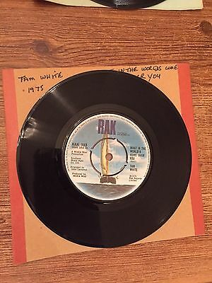 """Tam White - What in the World's come over you 7"""" vinyl"""