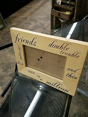 "Friendship Picture Frame (9.75"" x 3.75"")"