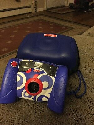 Fisher Price Kid Tough Digital Camera Blue And Case
