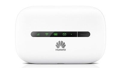 Huawei E5330 Unlocked White Hspa+ Mobile Mifi Wifi 3G Wireless Sim Free Modem