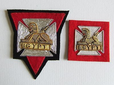 Royal Glosters Berkshire & Wiltshire Regt Officers Forage Cap & Beret Badges