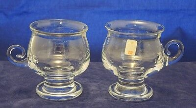 Mcm Holmegaard Hot Drink Coffee Glass Set Of Two With Labels As New #31