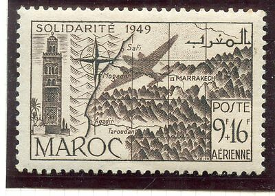 Timbre Colonies Francaises Maroc Poste Aerienne Neuf N° 77 **