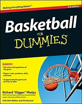 Basketball For Dummies by Consumer Dummies Paperback New  Book