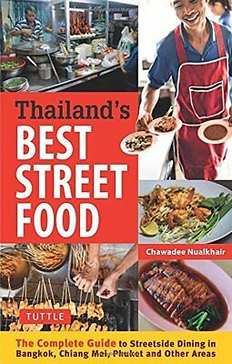 Thailand's Best Street Food by Nualkhair  Chawadee Paperback New  Book