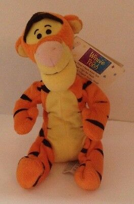Tigger Mattel Winnie the Pooh Plush Disney 1998 Soft Toy Collectible NEW Gift