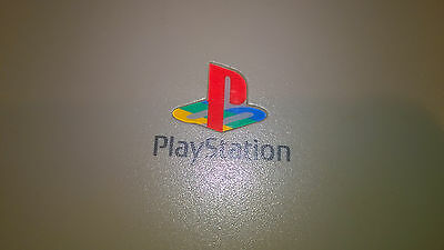 Sony Playstation Ps1 Grey & 8 Games #s75B47