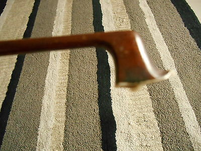 OLD FRENCH violin bow branded BAZIN