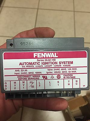 FENWAL Automatic Ignition System, Series 05-32