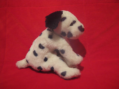 Ty Classic Ace The Dalmatian Dog   Floppy Beanbag Plush Toy