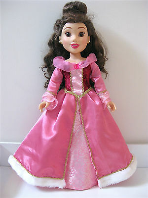 Disney Princess And Me Belle Holiday Cape And Gown