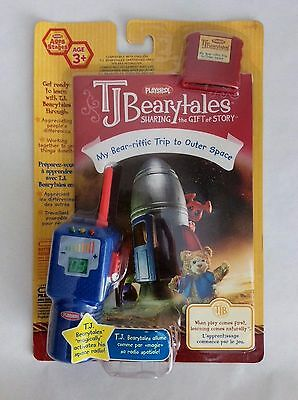 TJ BEARYTALES  My Bear-riffic Trip  to Outer Space   book, toy & cartridge *NEW*