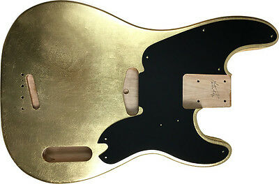 Body bass CUSTOM ORDER Fender Precision 51 style GOLD LEAF SILVER COPPER oro