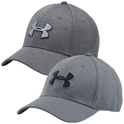 Under Armour 2017 Mens Heather Blitzing Cap Fitted Sport UA Running Hat