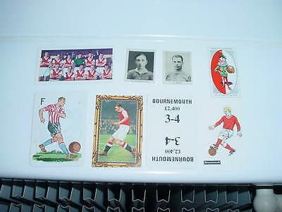 Bournemouth - Cards x 8 - 1920 - 60s