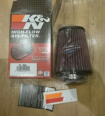 k&n universal cone air filter induction kit RE-0960 performance intake motorbike