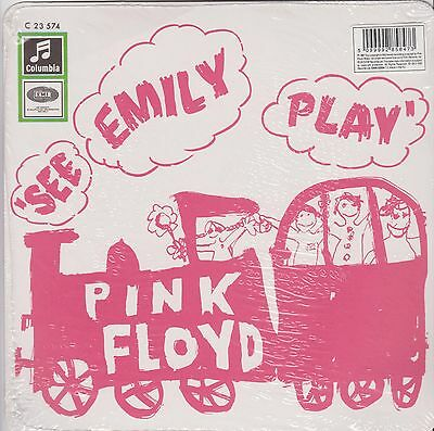 "7"" PINK FLOYD *** SEE EMILY PLAY *** PINK VINYL * Still Fact. Sealed"