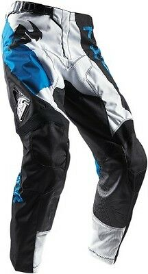 Thor Pulse Taper 2017 MX/Offroad Pants White/Blue