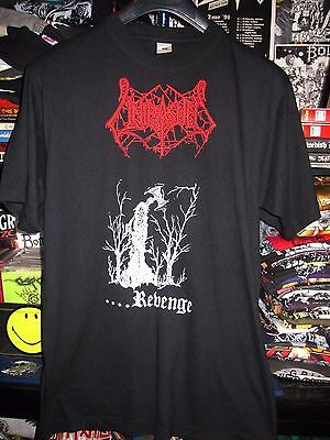 UNLEASHED shirt  bootleg NAPALM DEATH  ENTOMBED BENEDICTION  CORPSE GRAVE