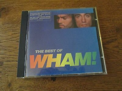 BEST OF WHAM! lp ON CD COMPACT DISC SONY Epic 1997