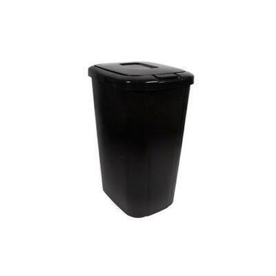 Hefty Plastic 13.3 Gallon Touch Top Trash Can Set of 4