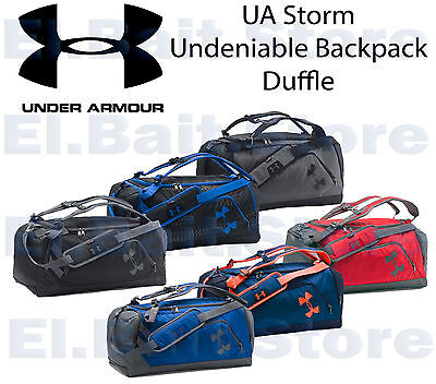 Under Armour 1273255  UA Storm Undeniable Backpack Duffle Bag Water-Resistant