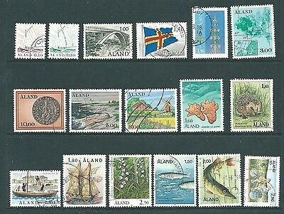 ALAND - Used stamp collection