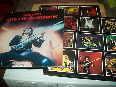 Thin Lizzy - Live And Dangerous - double LP gatefold sleeve (6641 807)