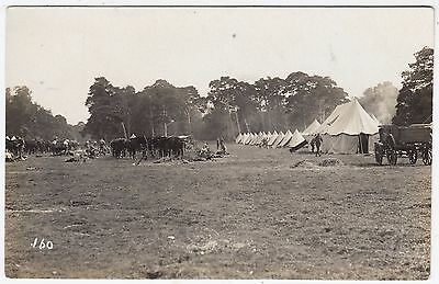 HONOURABLE ARTILLERY COMPANY Military Camp - by Tunn / Ipswich - c1900s postcard