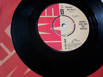 Johnny Kidd & The Pirates - Shakin All Over / Yes Sir , That's My Baby