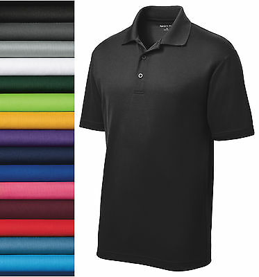 NEW Sport-Tek® CASUAL GOLF DRY FIT SPORT SHIRT Polo ST640 XS -2XL 100% POLYESTER