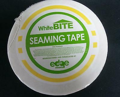 "White Bite Roof Tape 3""x50' for rv edpm rubber roofs dicor tpo"