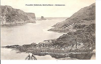 Pulleen harbour Castletown Berehaven early postcard
