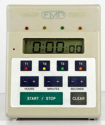FMP 151-7500 4 in One Commercial Kitchen Countdown Timer w/ Alarm
