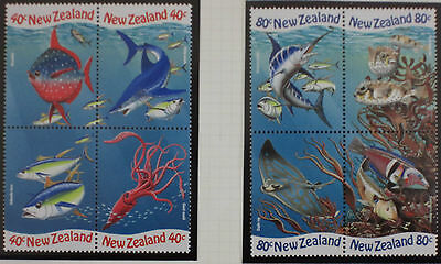 NEW ZEALAND stamps – 1998 Year of the Ocean set MNH (8)