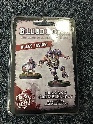 Blood Bowl Star Players - Grak and Crumbleberry - Warhammer World Exclusive