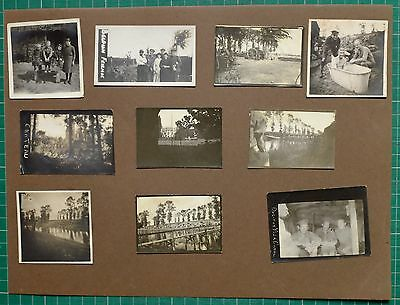 Ww1 Wwi Photo West Yorkshire Regiment France Dug-Out Yser Canal + Other Pics