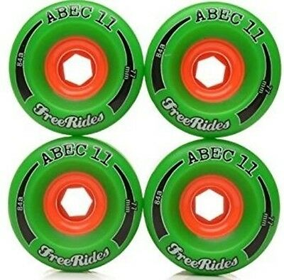 ABEC 11 77mm/84a LONGBOARD WHEELS. NEW. PERFECT. SAVE YUUGGE!!!