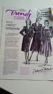 Vintage Booklet Trends in Sewing Fashion Palmer Pletsch Associates